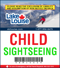 2017/18 Sightseeing Lift Ticket - CHILD