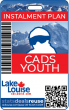 INSTALMENT PLAN : 2020/21 SEASON PASS - CADS YOUTH