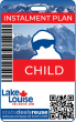 INSTALMENT PLAN : CHILD SEASON PASS - 2021/22