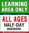 LEARNING AREA ONLY - HALF-DAY LIFT TICKET