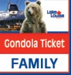 2020 SUMMER GONDOLA TICKET - FAMILY