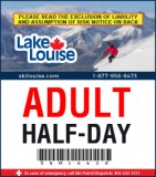 2018/19 Half-Day Lift Ticket - ADULT