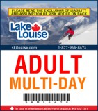 2018/19 Multi-Day Lift Ticket - ADULT