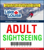 2018/19 Sightseeing Lift Ticket - ADULT