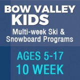 Bow Valley Ski & Snowboard Programs (10 week)