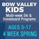 BOW VALLEY KIDS - 4 WEEK SPRING PROGRAM