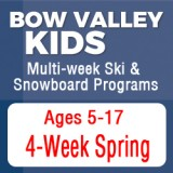 Bow Valley Ski & Snowboard Spring Programs (4 week)