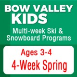 Junior Bow Valley Kids Spring Program (4 Week)