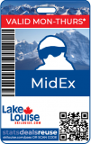 2020/21 SEASON PASS - MidEx Mid-Week (M-T)