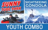 2018/19 Tube Park & Sightseeing Gondola Combo - YOUTH