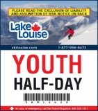 2018/19 Half-Day Lift Ticket - YOUTH