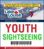 2018/19 Sightseeing Lift Ticket - YOUTH