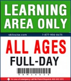 LEARNING AREA ONLY - FULL-DAY LIFT TICKET - 2020/21