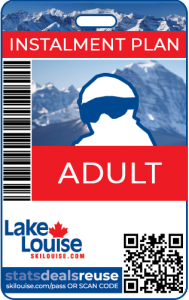 INSTALMENT PLAN : ADULT SEASON PASS - 2021/22