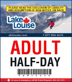 ADULT - HALF-DAY LIFT TICKET - 2020/21