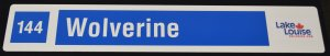 Blue Trail Signs - Medium