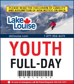 2018/19 Full-Day Lift Ticket - YOUTH