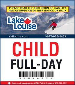2018/19 Full-Day Lift Ticket - CHILD